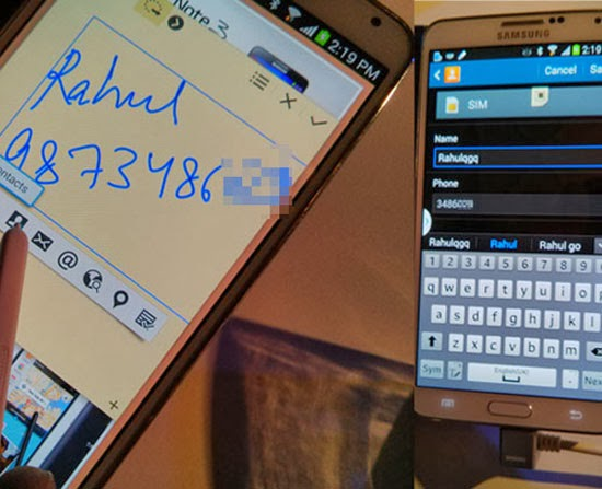 Một số thủ thuật độc đáo trên Galaxy Note 3