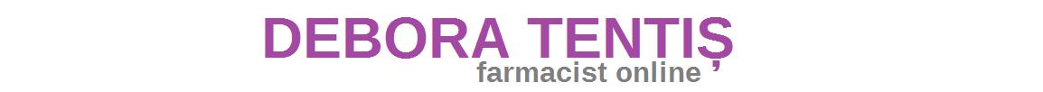 Debora Tentiș #farmacistonline - Îngrijirea pielii și sănătate