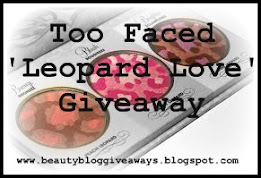 Fashion Beauty Blog Giveaway