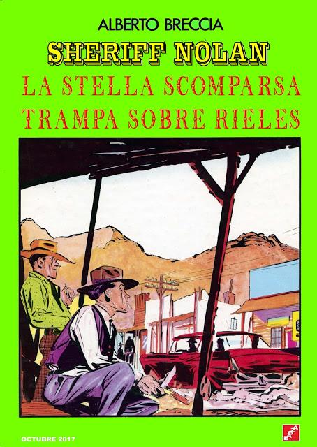 Sheriff Nolan - A. Breccia - EAGZA
