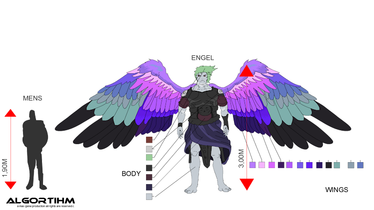 Angel color settings