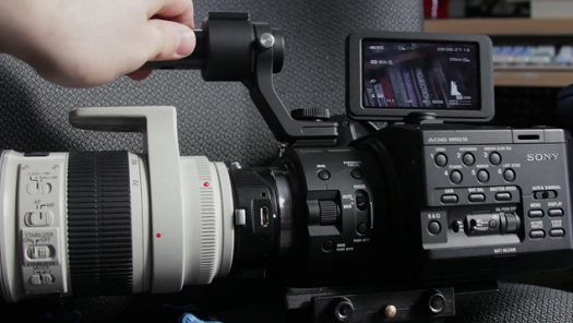 sony nex eos smart adapter review