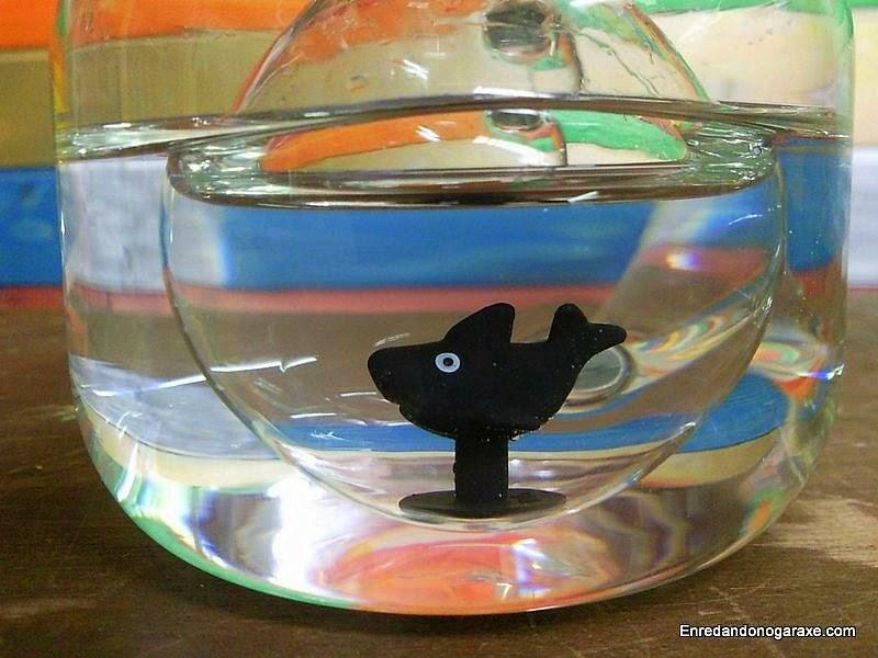 Escafandra para pez. Enredandonogaraxe.com