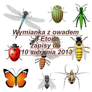 Wymianka z owadem - wysłana otrzymana :-)