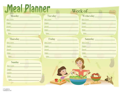 Meals To Go. planning your meals and go