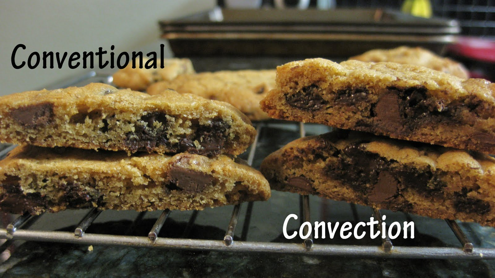 Countertop Convection Oven Vs Conventional Oven : Not the Normal Teenage Fare: The GREAT Chocolate Chip Cookie ...