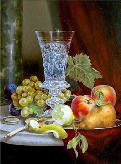 Bodegones Instrumentos Frutas