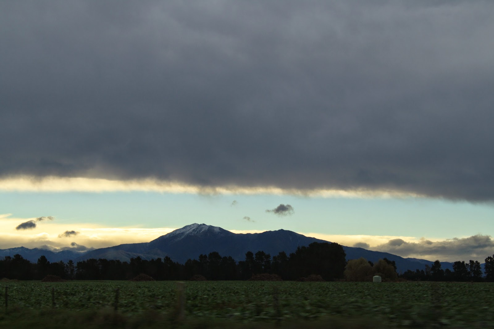 Somewhere in the South Island. Lots of cloud.
