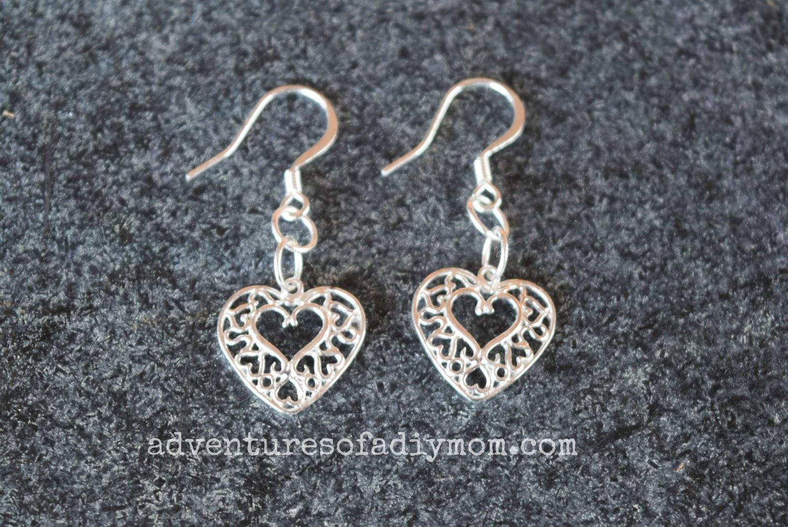Heart Valentines Earrings