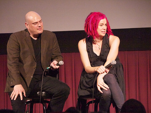 """Lana Wachowski the director or 'The Matrix"""" gone male to female transition surgery photo"""