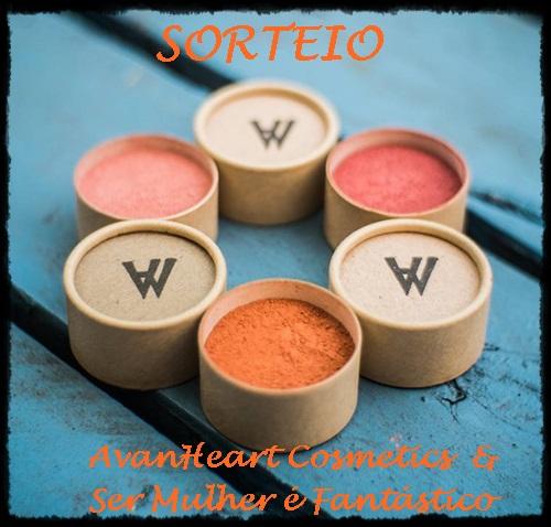 Sorteio AvanHeart Cosmetics