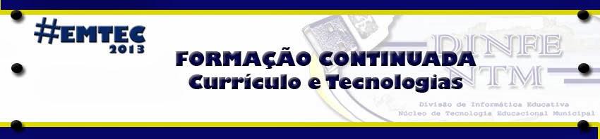 EMTEC 2013 - Encontro Municipal de Tecnologia Educacional em Cabo Frio