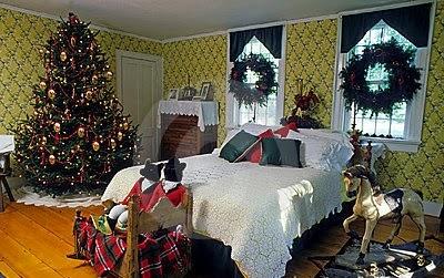 Decorar un dormitorio en navidad ideas para decorar for Cuartos decorados con estrellas