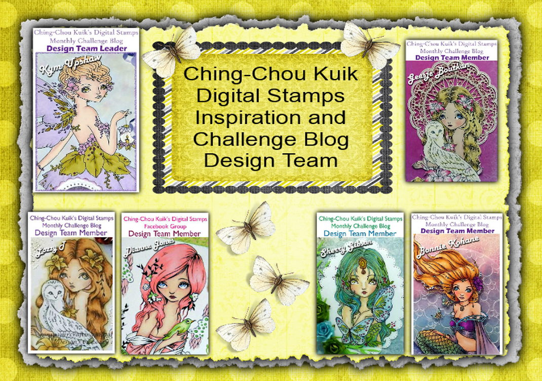 Ching-Chou Kuik Digital Stamps Inspiration and Challenge Blog