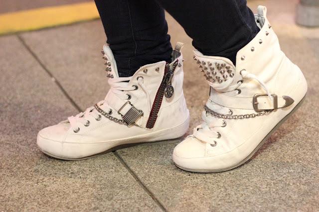 White Alexander Sneakers