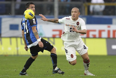 Atalanta Cagliari 1-0 highlights sky