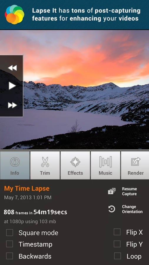 Lapse It • Time Lapse • Pro v4.40