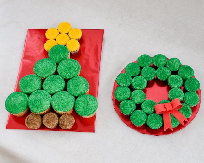 easy christmas cupcake ideas - Christmas Cupcake Decorations