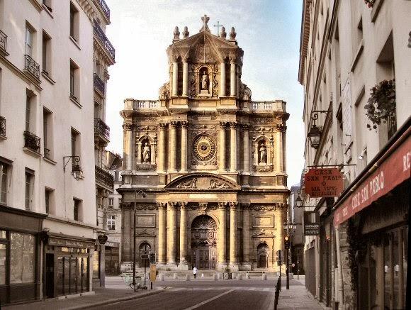 Saint-Paul-Saint-Louis, Церкви Парижа, достопримечательности Парижа, Париж, путеводитель по Парижу, что посмотреть в Париже