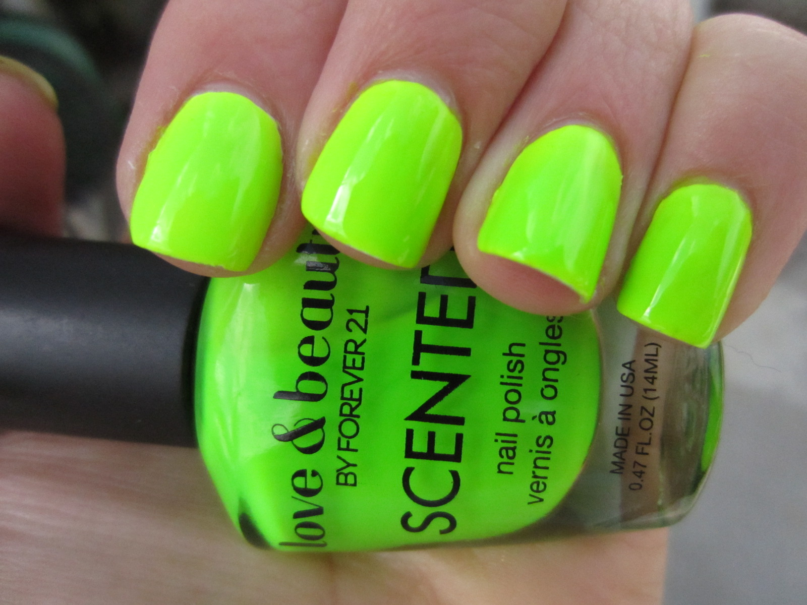Lime Scented Nail Polish