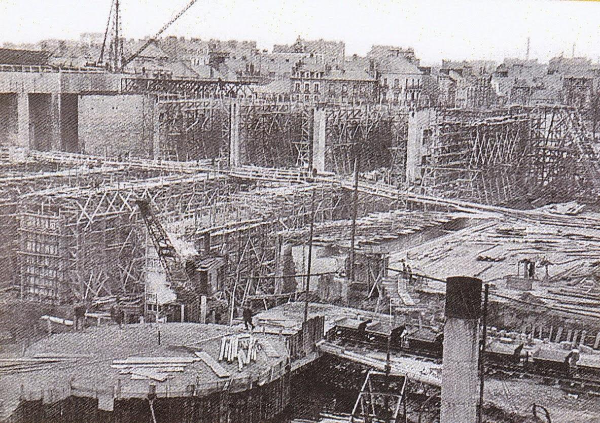Saint nazaire une ville d truite st nazaire la base sous marine - Architecture sous marine ...