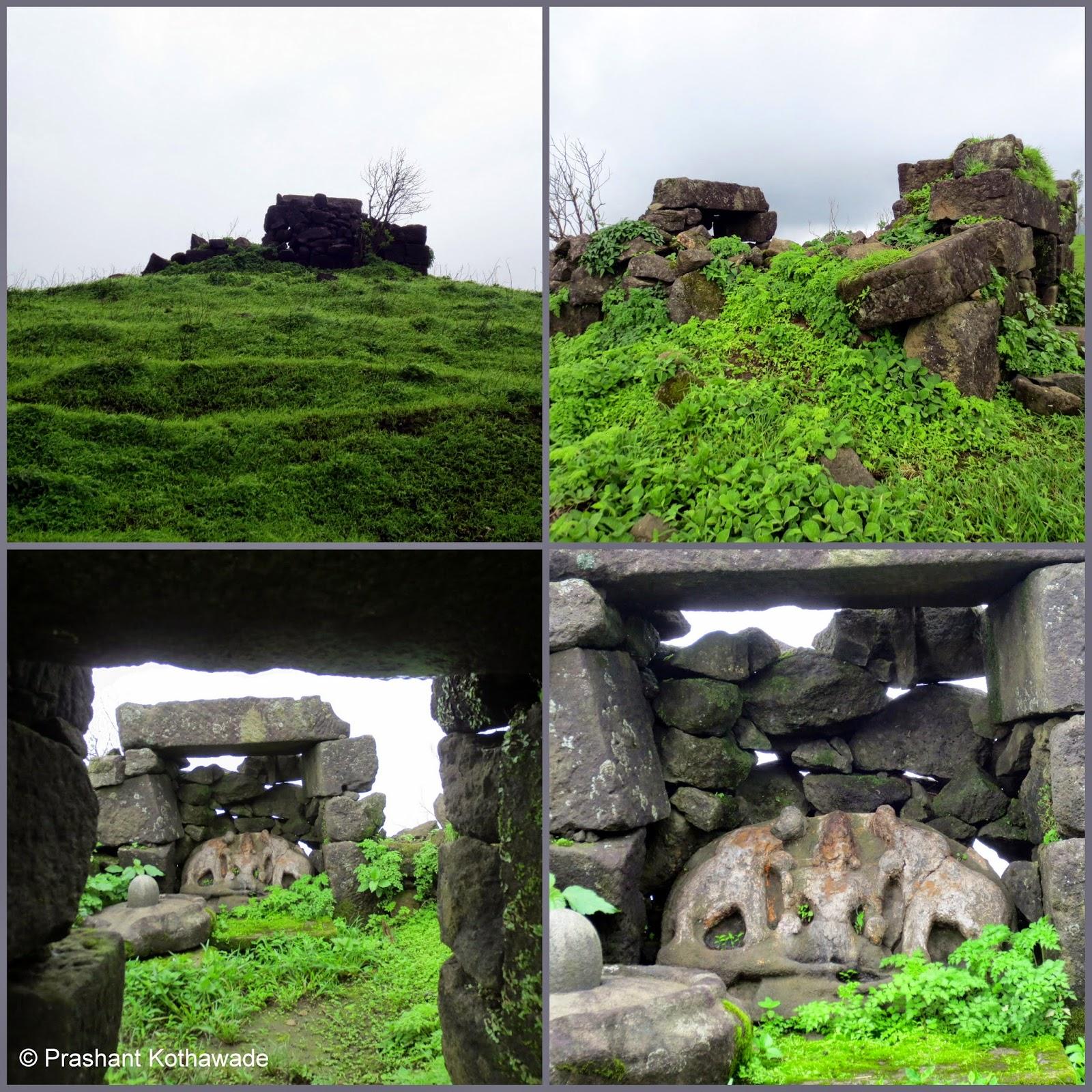 Prashant Kothawade S Blogs Nimgiri Fort A Monsoon Hike