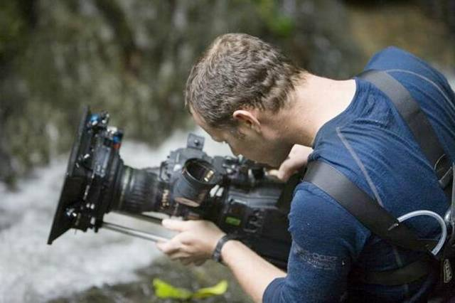 Behind the Camera - Bear Grylls