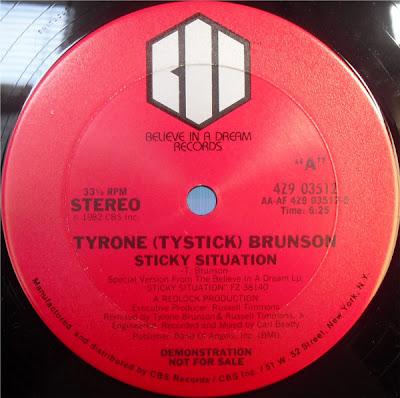 Tyrone (Tystick) Brunson – Sticky Situation (1982, VLS, 320)