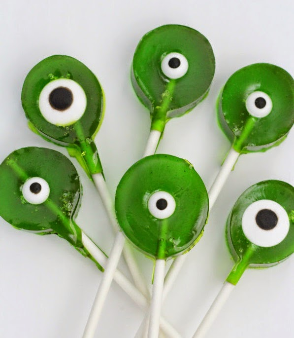 Ojos de Monstruo, Caramelos para Halloween