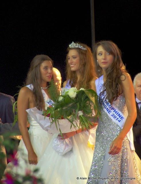Morgane Laporte Miss Auvergne 2014 et ses dauphines