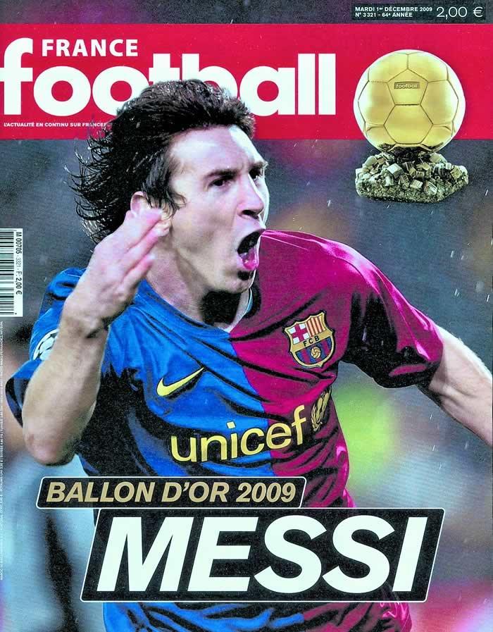 Messi quot i am legend quot france football