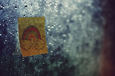 I love when its rain..