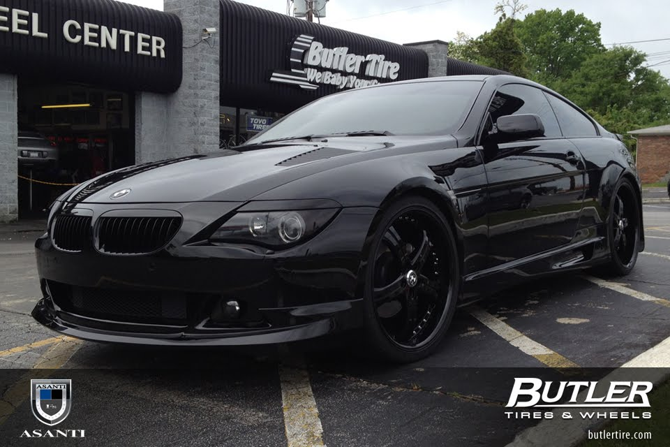 Bernies favorite butler tire releases photos of a blacked out bmw butler tire sent me photos of the bmw 650i that i loved the most this bmw 650i was outfitted with lexani lss5 wheels in 22 inches and full custom body kit publicscrutiny Images