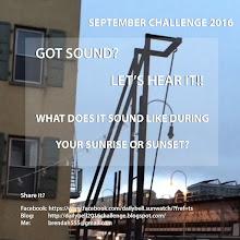 SEPTEMBER Challenge 2016