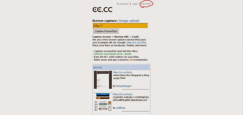 Cara Mendapatkan Dollar Dari Hanya Dengan Share Gambar Di CC.CC
