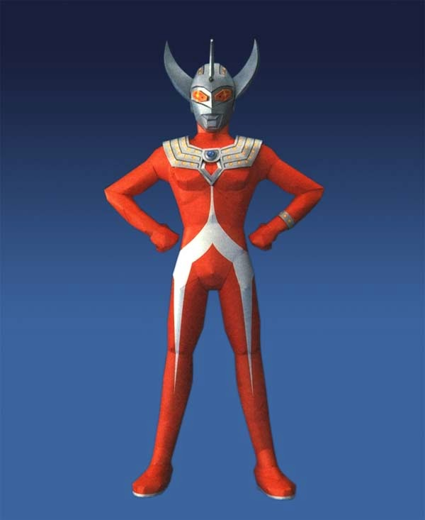 Ultraman Papercraft - Ultraman Taro
