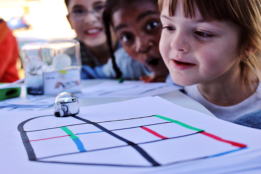 Encourage S.T.E.M principles through a fun micro robotic toy that any age can program, and all ages will thirst to master, the Ozobot.