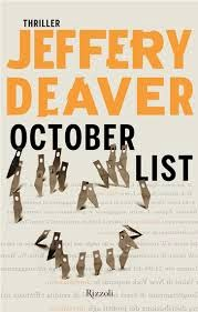 Jeffery Deaver - October List (2014) - ITA