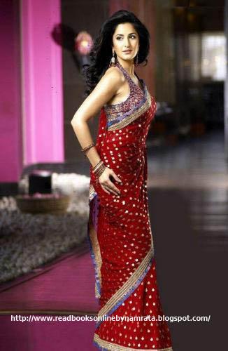Katrina-kaifKajal-Agarwal-sarees designs 2012_2_readbooksonlinebynamrata