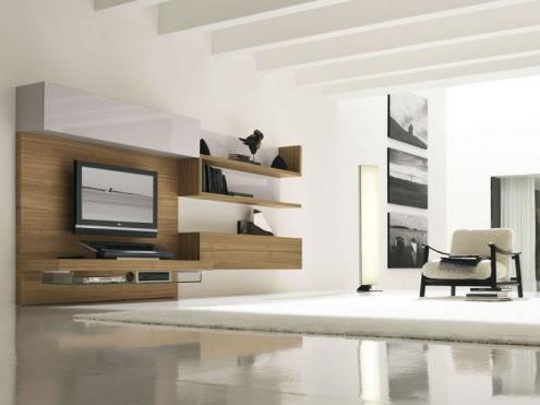 Arquitectura interior salones estilo moderno for Arquitectura interior