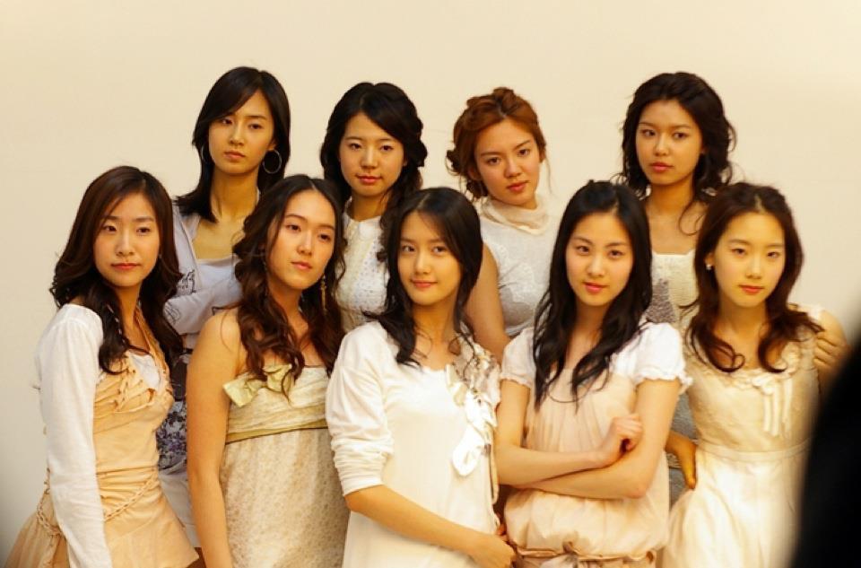Gambar Girl's Generation sebelum buat pembedahan muka