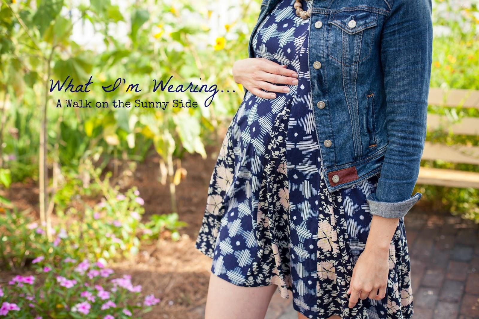Amy West maternity fashion