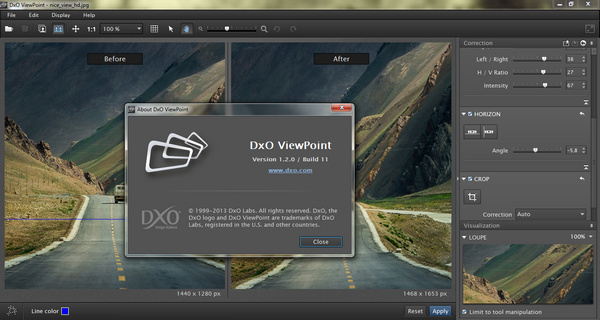DxO ViewPoint 1.2.0 Build 11 Full Patch
