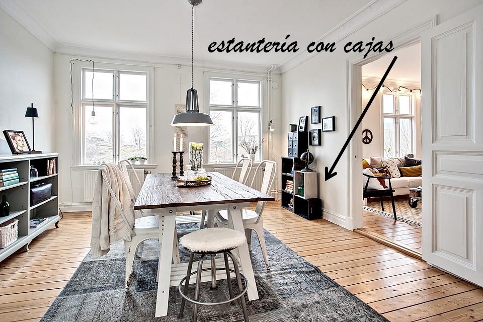 Ideas para crear un apartamento estilo escandinavo con for Mesa comedor estilo escandinavo