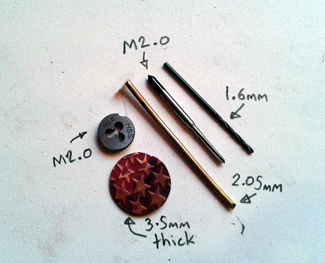 tapping jewelry parts