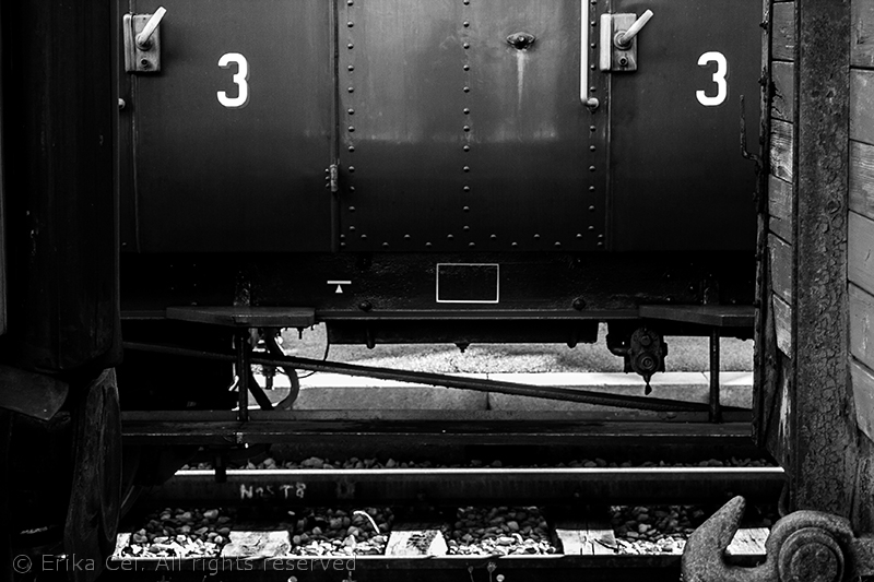 Stazione di Campo Marzio Trieste vagone III classe