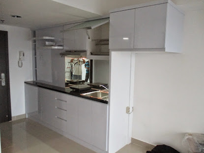 Kitchen set mbak yessy at apartemen Hive cawang
