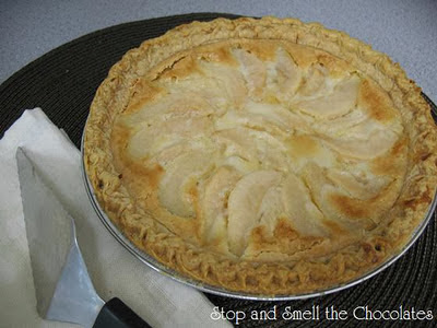 http://www.stopandsmellthechocolates.com/2011/11/pear-week-pear-custard-pie.html