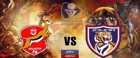 Live Streaming Johor Darul Takzim vs Kelantan 22 Mei 2013 - Liga Super