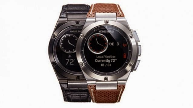 MB Chronowing, HP, HP connected, HP MB Chronowing, Chronowing, MB, Hewlett-Packard, connected watch MB Chronowing, mobile, Gilt, Michael Bastian,